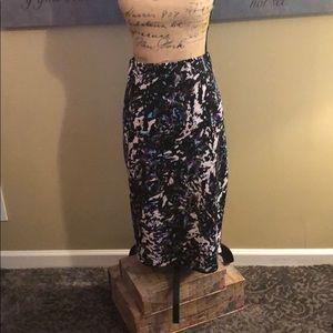 Mossimo Printed Pencil Skirt